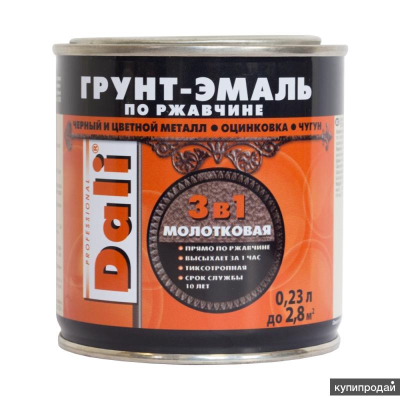 Молотковые грунт-эмали по ржавчине DALI®