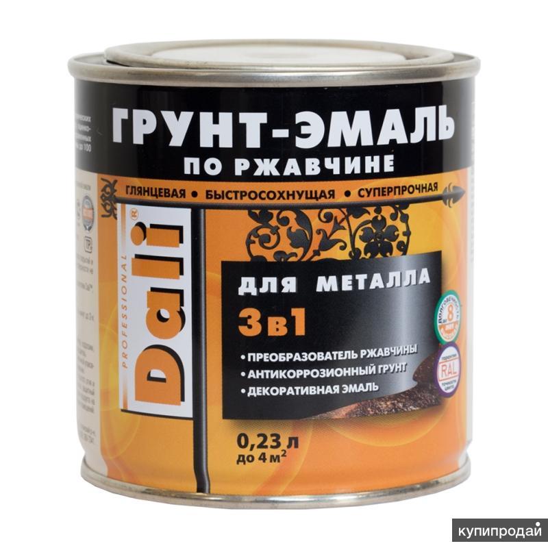 Грунт-эмали гладкие по ржавчине DALI®