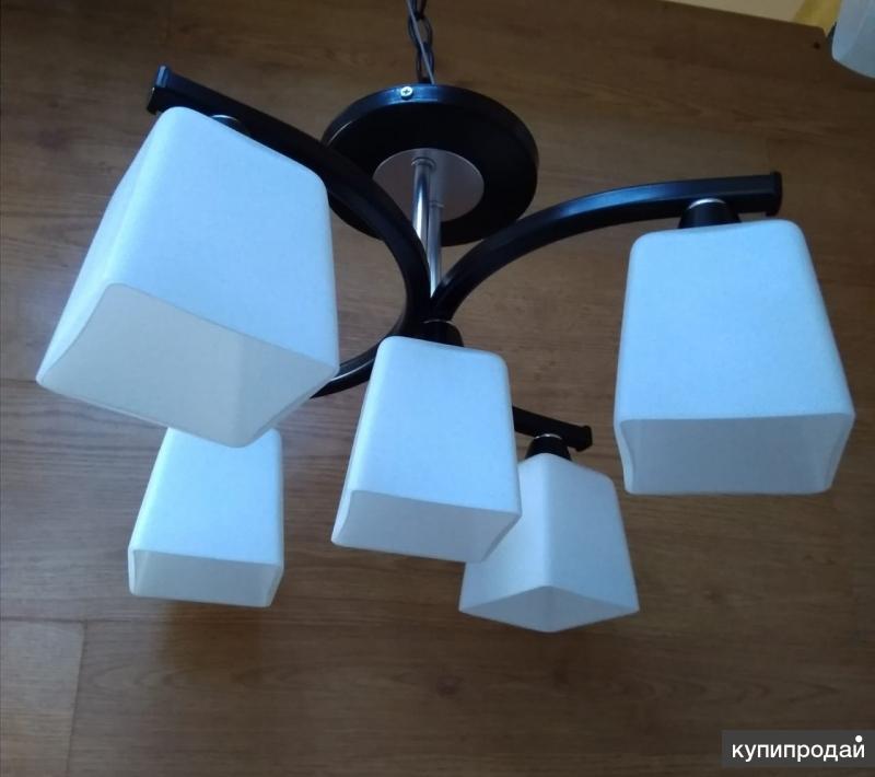 Люстра Ангелина на 5 ламп