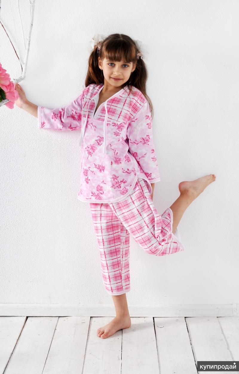 Пижамы женские трикотажные