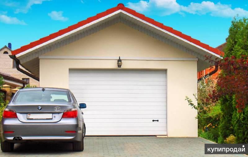 Автоматические гаражные ворота, откатные, рулонные ворота, рольставни, привода