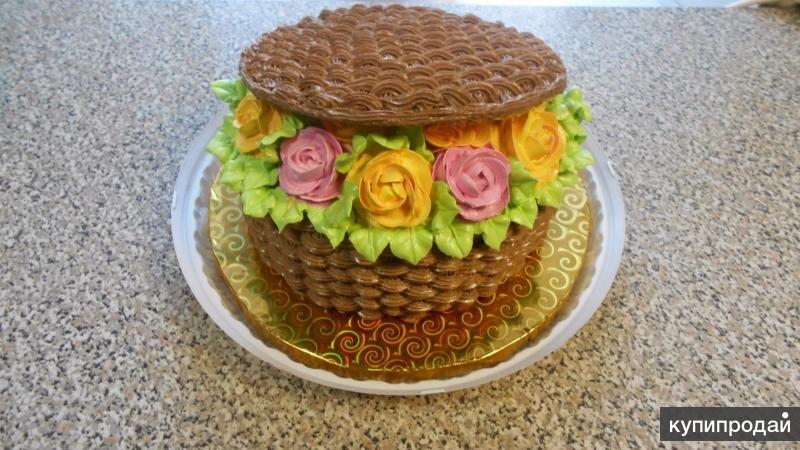Домашние торты на заказ .