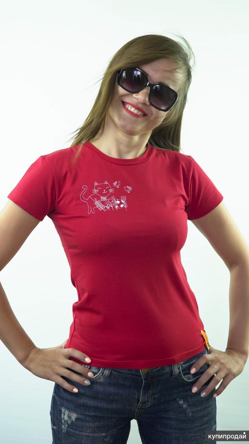 Две футболки по цене одной, размеры с 42 по 52