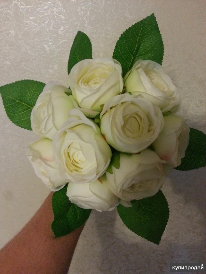 Искусственные цветы.Розы!!!Лучшая цена!!