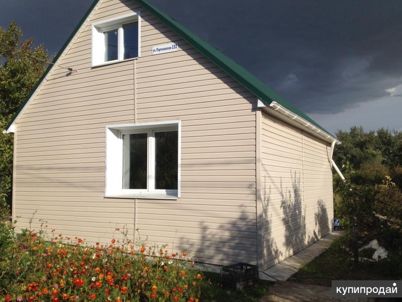 Продам 2х этажный новый дом с земельным участком в Хабаровске