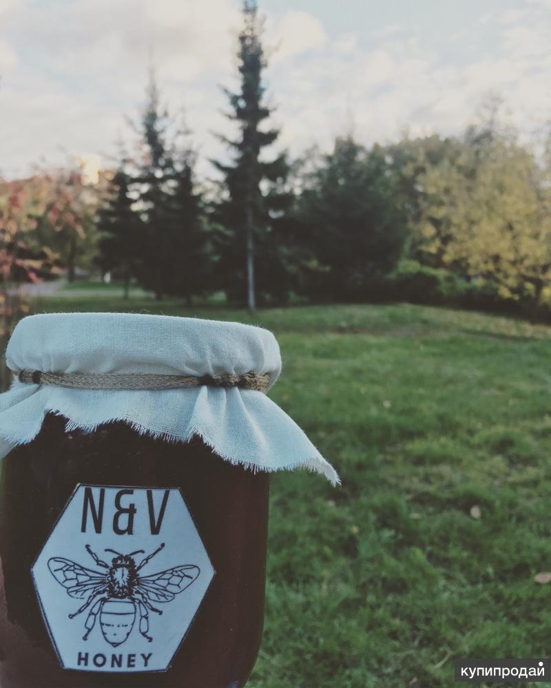 Продажа натурального алтайского мёда!