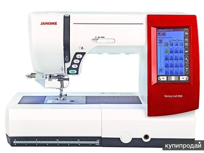 Швейная машина JANOME Memory Craft 9900 (новая)