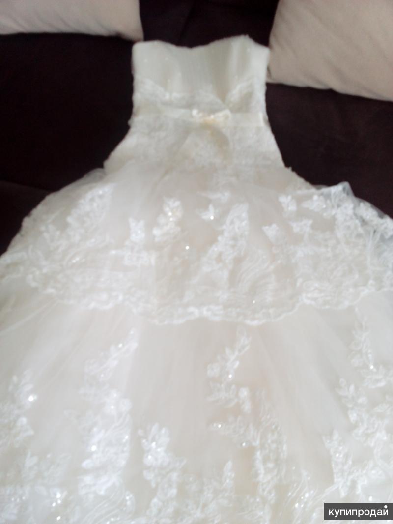 Платье,цвет шампанского, 42-44