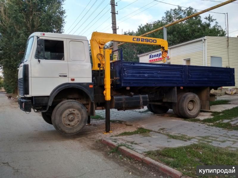Продам СВОЙ Манипулятор грузовик МАЗ