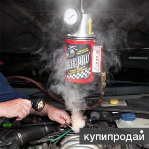 диагностика дымогенератором. тест на герметичность