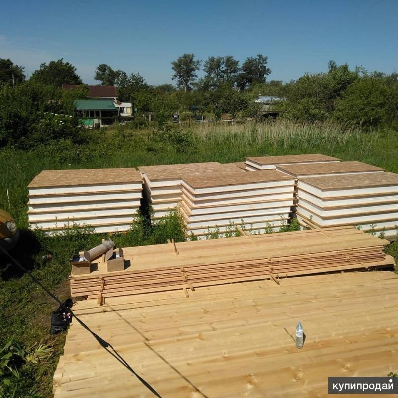 Производство и строительство домов из СИП-панелей