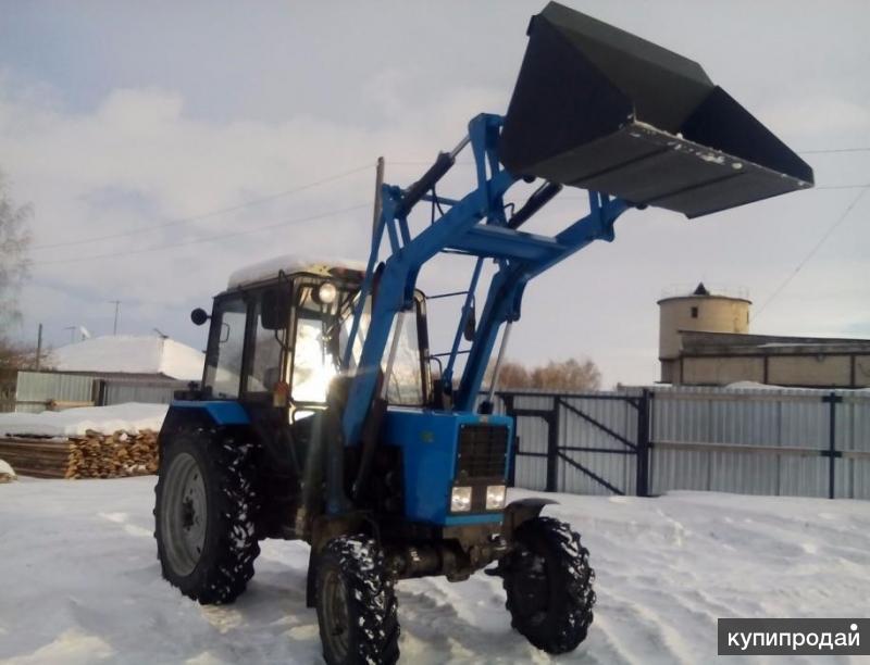 ПКУ 0,8 КУН. Погрузчик универсальный для трактора.