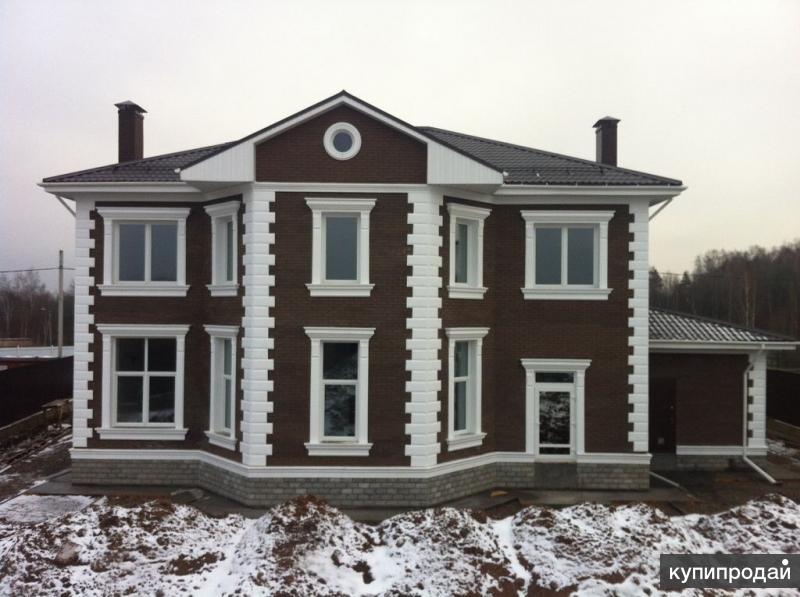 Армированный фасадный декор