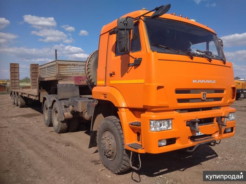 Тягачи КамАЗ-65225 и КамАЗ-65221