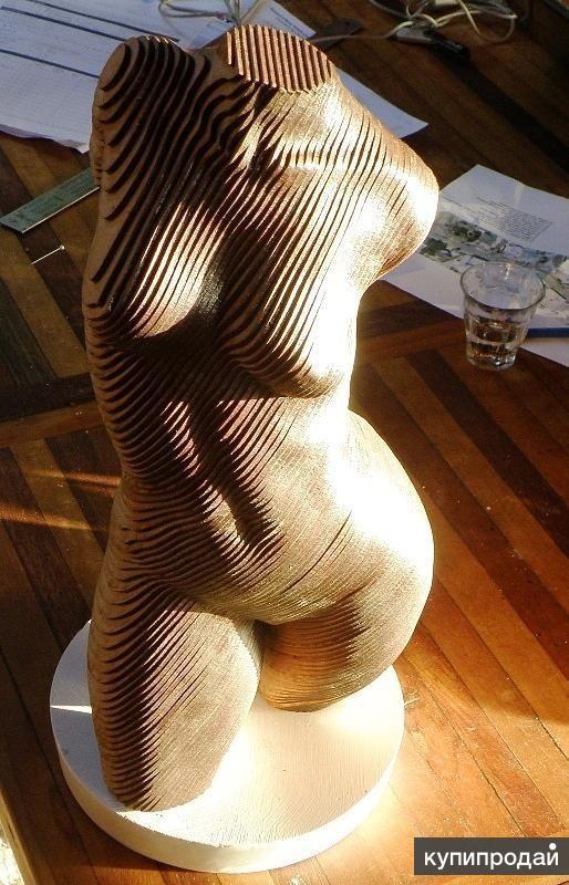 Параметрическая скульптура (параметрическая мебель)