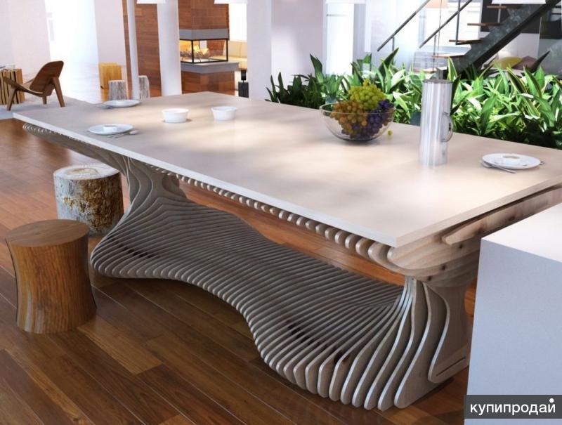 Параметрический стол (параметрическая мебель)