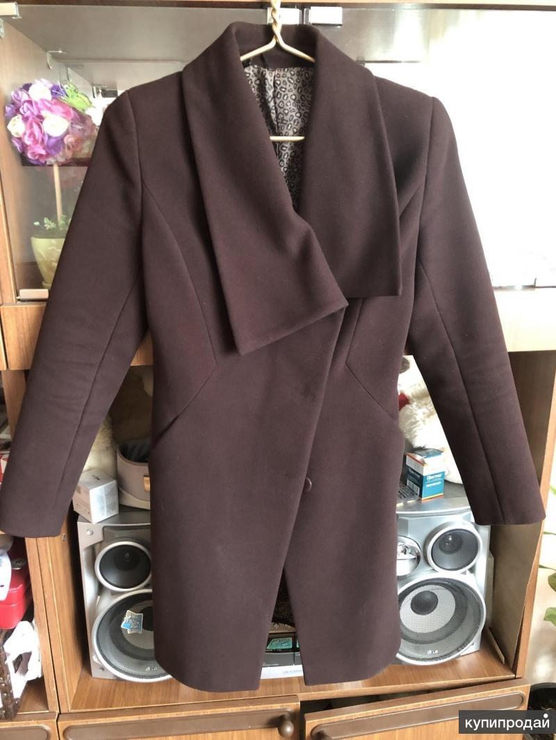 Пальто шерсть 44 размер