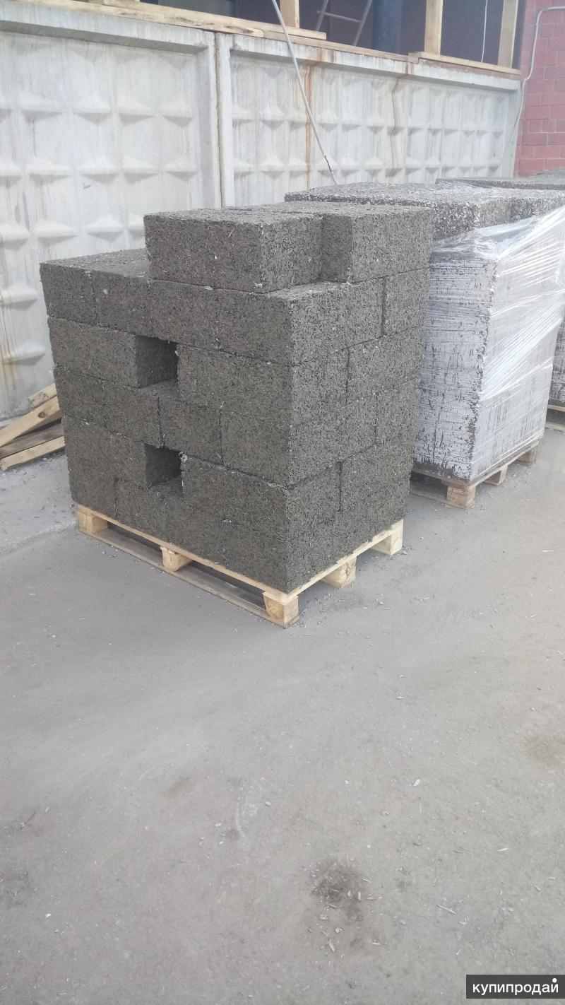 Арболитовые блоки отличного качества