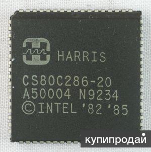 Процессоры N80L286-10/S, 12, CS80C286-20