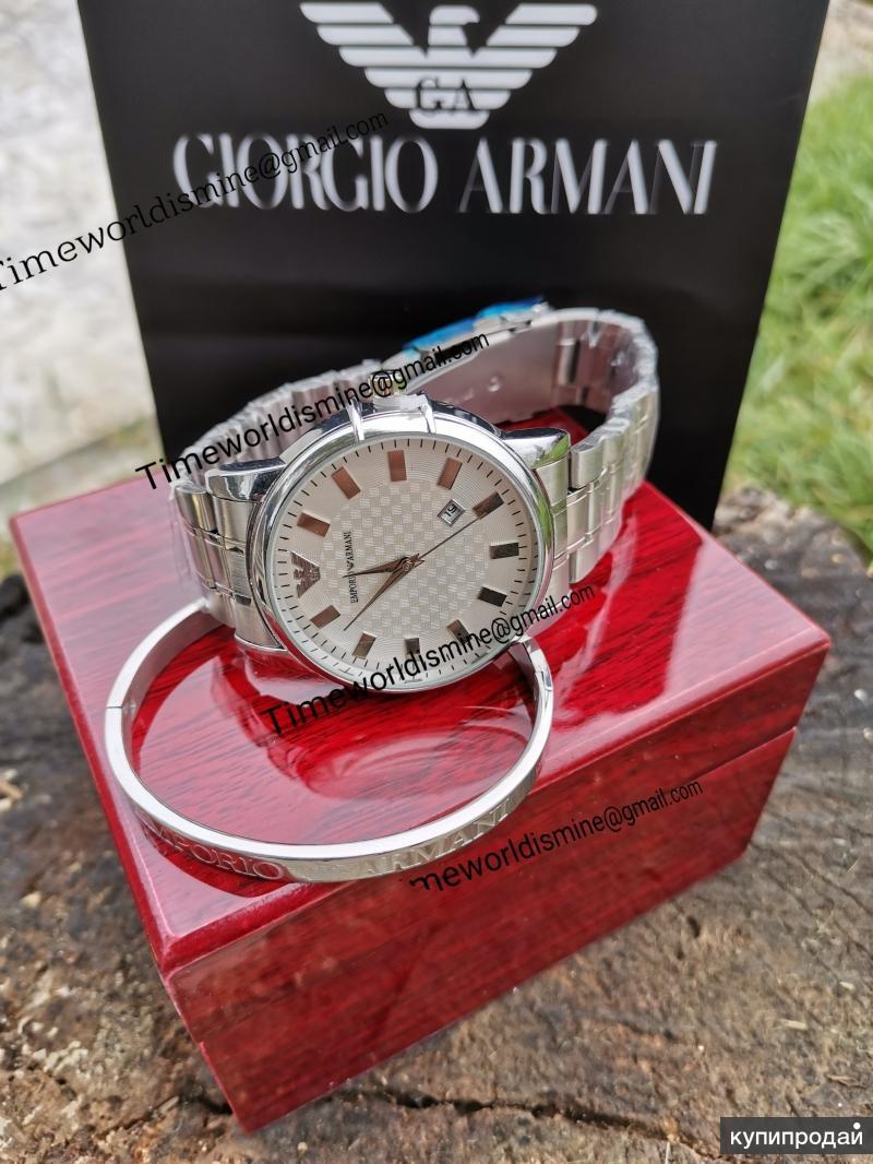 Часы мужские металл