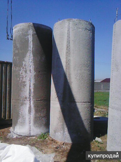 готовые бетонные колодцы для запаса воды