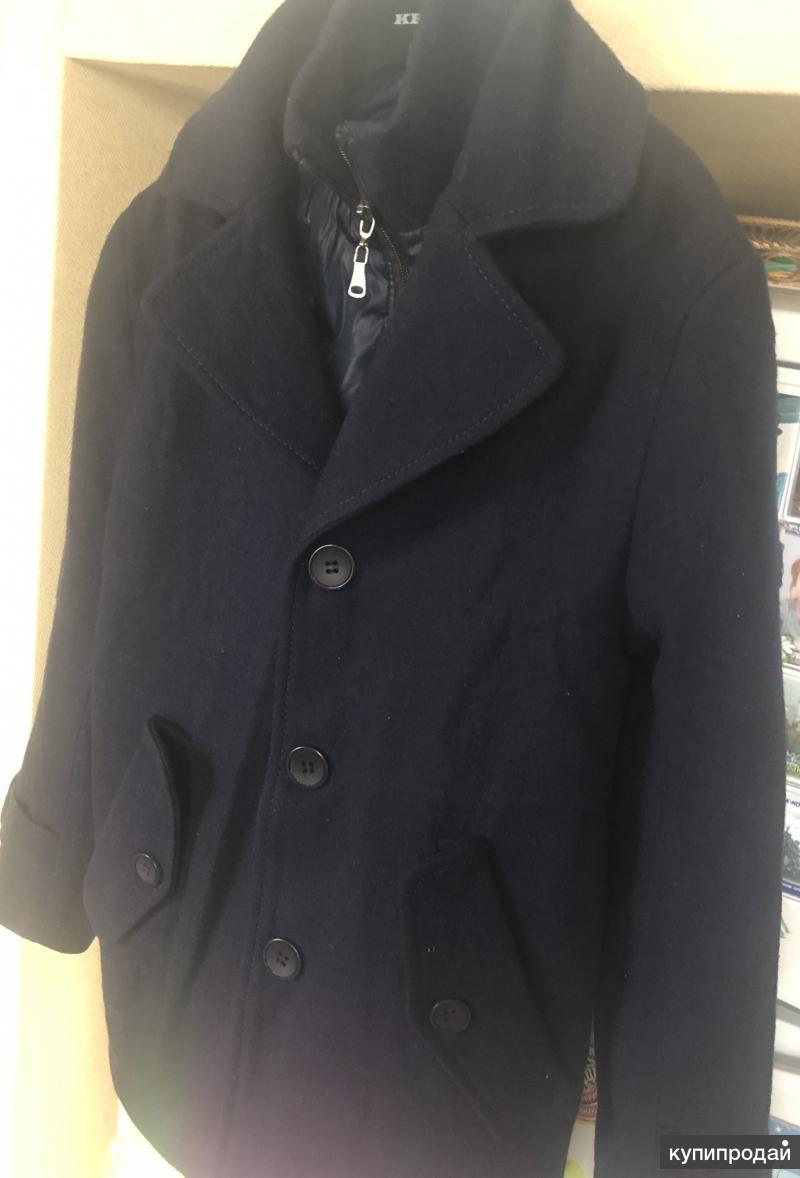 Пальто на мальчика Orby, шерсть, рост 134-140