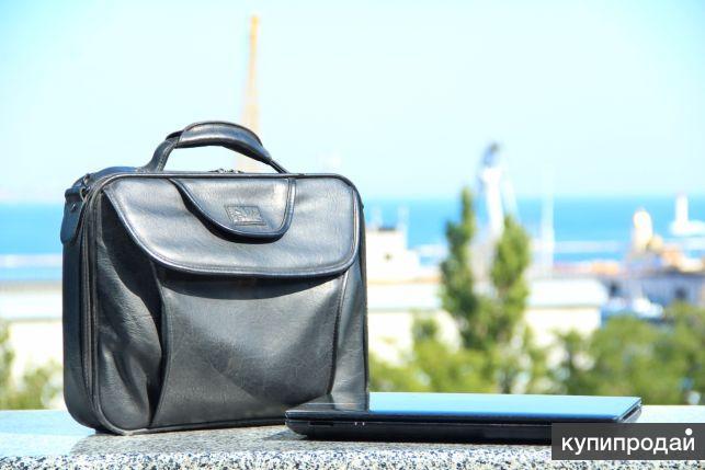 Игровой 4х ядерный ноутбук | SSD 128 | +Кожаная сумка в подарок