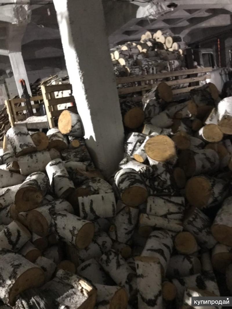 Березовые дрова в чурках и колотые