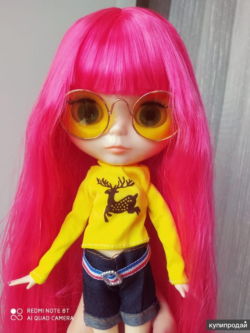 Кукла Блайз.Новая.Глянцевое лицо