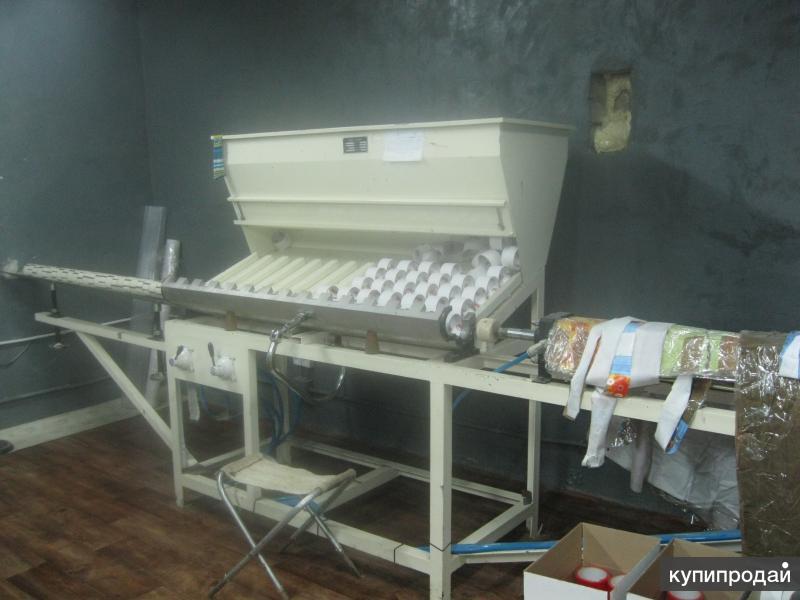 Продам оборудование для перемотки и нарезке липких лент(скотча)