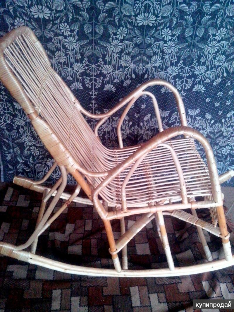 Плетеная мебель.