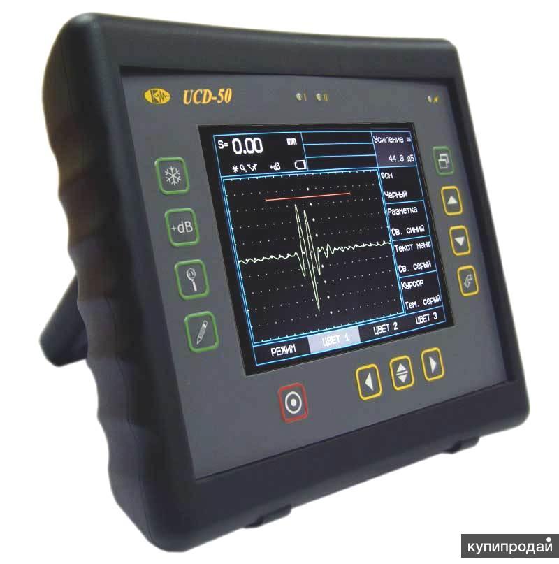 Ультразвуковой дефектоскоп УСД-50 для промышленного применения