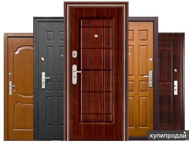 металлические двери установка и продаж