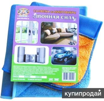 Салфетки для уборки из микрофибры