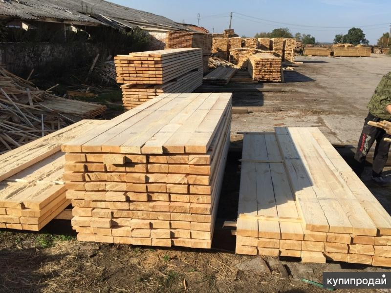 Производство и продажа хвойных пиломатериалов в Грозном