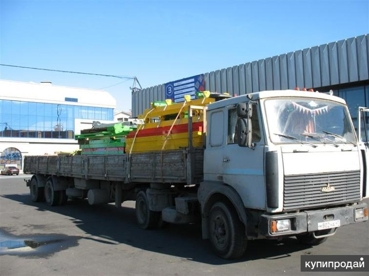 Из Балашихи перевозка на длинномере 20 тонн.