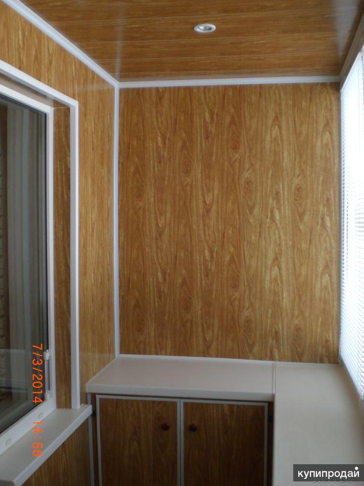 Челябинск: обшиваем балконы.