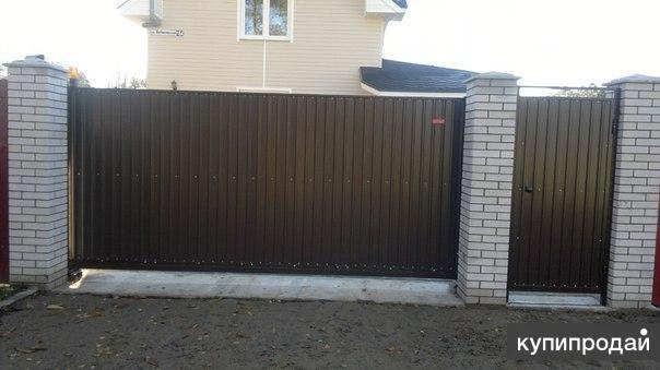 Откатные ворота от 16000 руб.