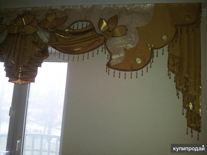 Пошив штор и покрывал, карнизы, жалюзи, плиссе