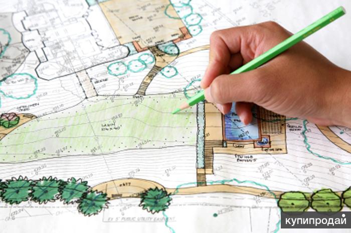 Создание ландшафтных проектов и их воплощение