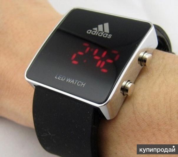 Сколько стоят часы led watch adidas?