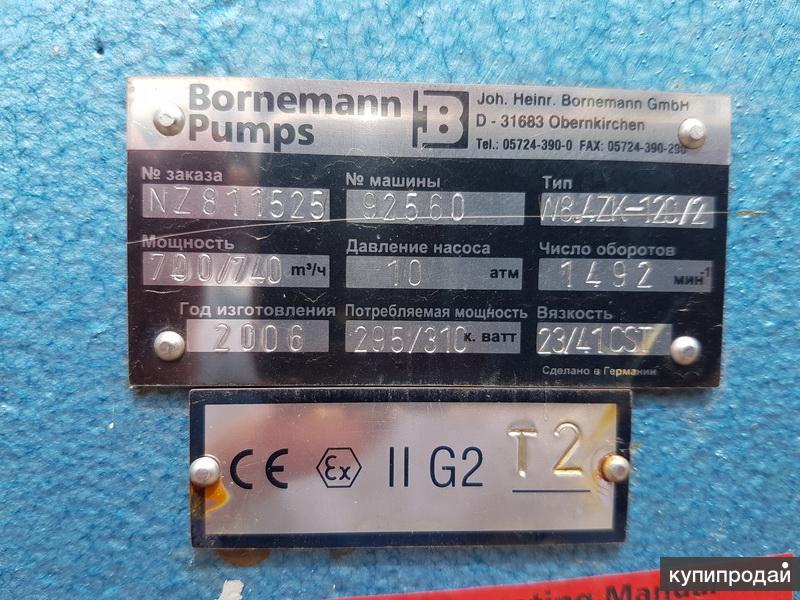 Горизонтальный винтовой насос Bornemann pumps