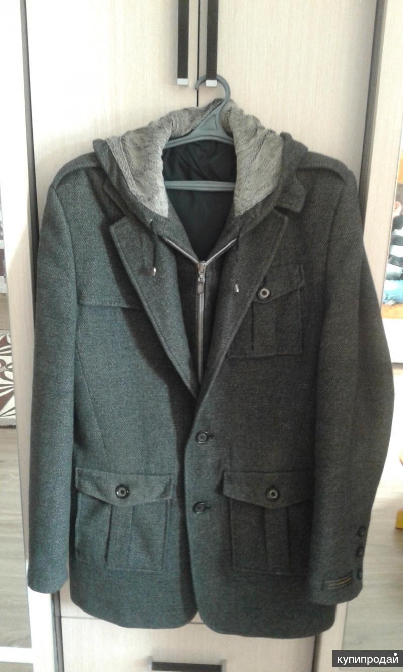 Мужское стильное пальто осень-зима