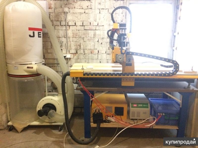 Продается фрезерный станок с ЧПУ Росфрезер с сопутствующим оборудованием
