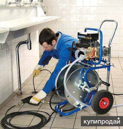 Прочистка канализации круглосуточно Омск