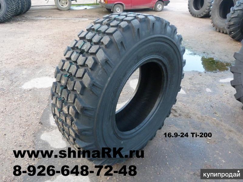 Шины 16.9-24 14PR Ti200 пневматические(протектор шашка)