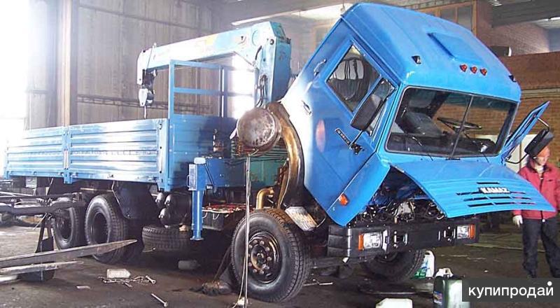 КамАЗ 53215 борт кап ремонт с манипулятором Тадано г/п 5т.