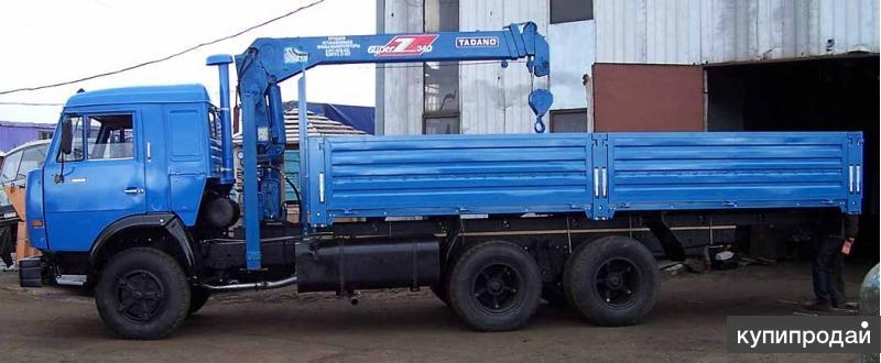 КамАЗ 53212 борт кап ремонт с манипулятором Тадано г/п 3т.