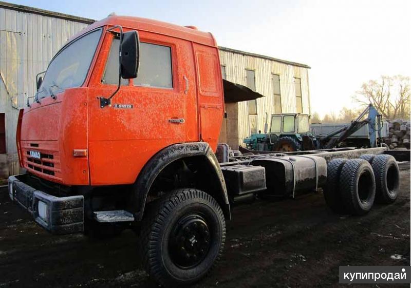 КамАЗ 53228 шасси вездеход 6х6 кап ремонт, двиг ЯМЗ-238.