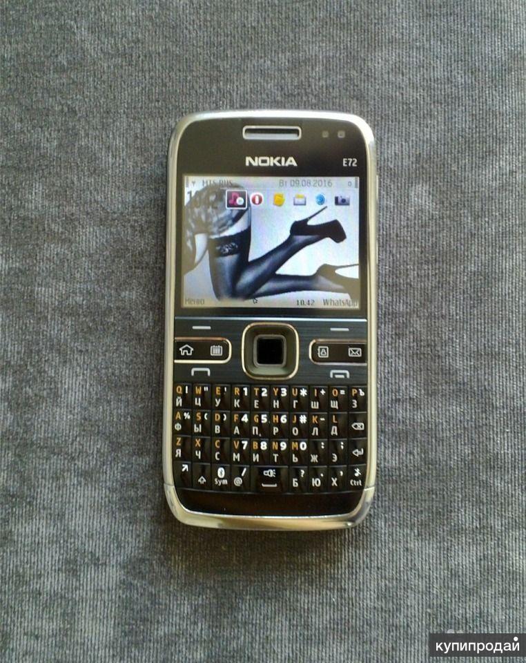 Nokia E72 Black 4gb